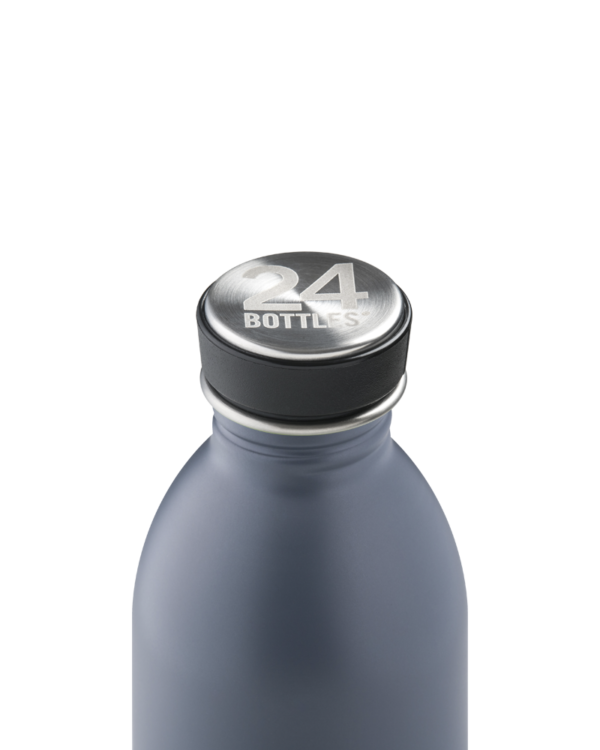 Formal Grey Reusable Stainless Steel Lightweight Bottle