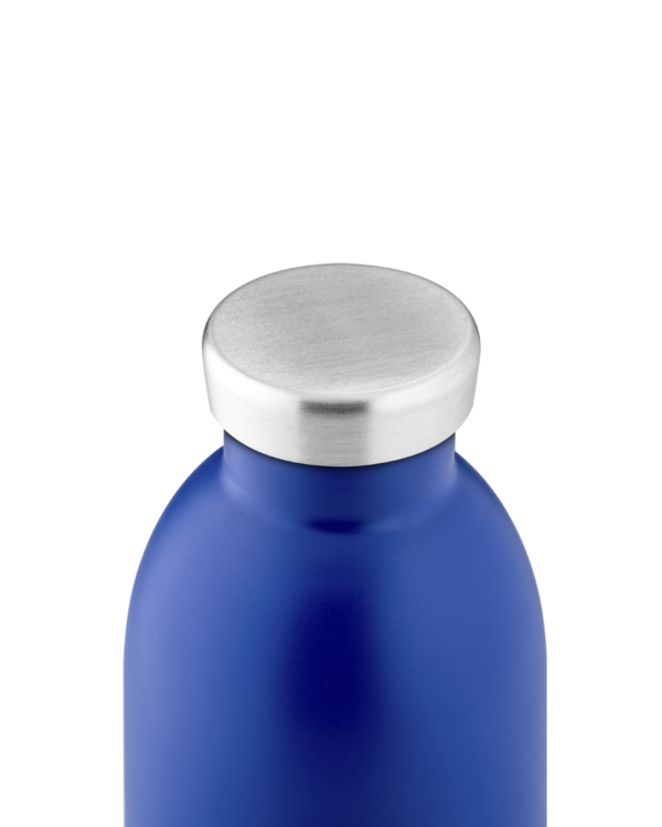 Gold Blue Insulated Stainless Steel Water Bottle