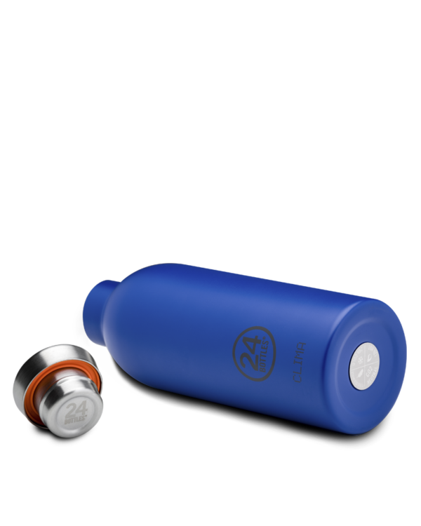 Gold Blue Reusable Insulated Stainless Steel Bottle