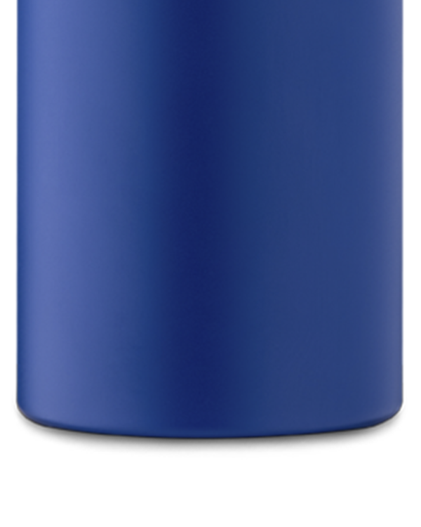 Gold Blue Reusable Stainless Steel Water Bottle