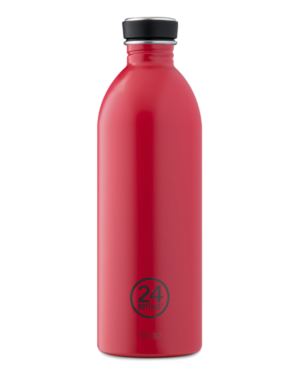 Hit Red Reusable Stainless Steel Lightweight Bottle