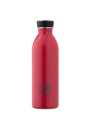 Hot Red Reusable Stainless Steel Water Bottle
