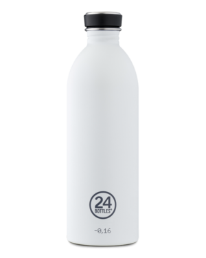 Ice White Reusable Water Bottle