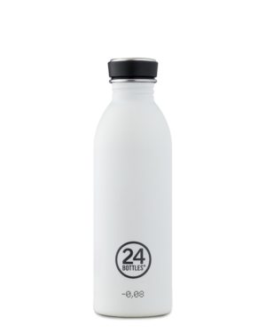 Ice White Reusable Stainless Steel Bottle