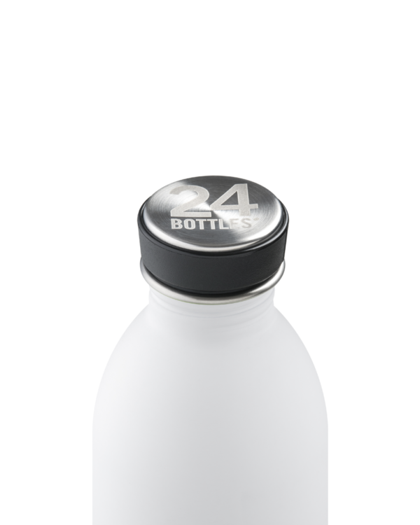 Ice White Stainless Steel Water Bottle
