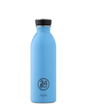 Lagoon Blue Reusable Stainless Steel Water Lightweight Bottle
