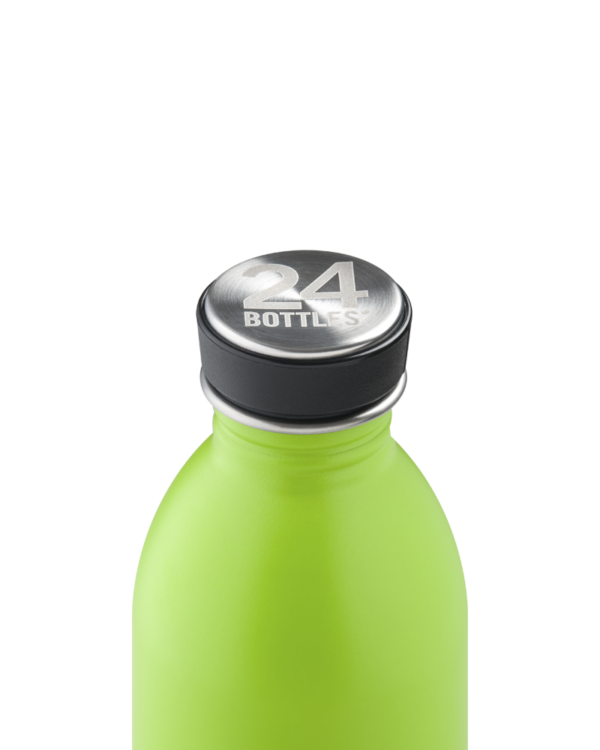 Lime Green Reusable Water Bottle