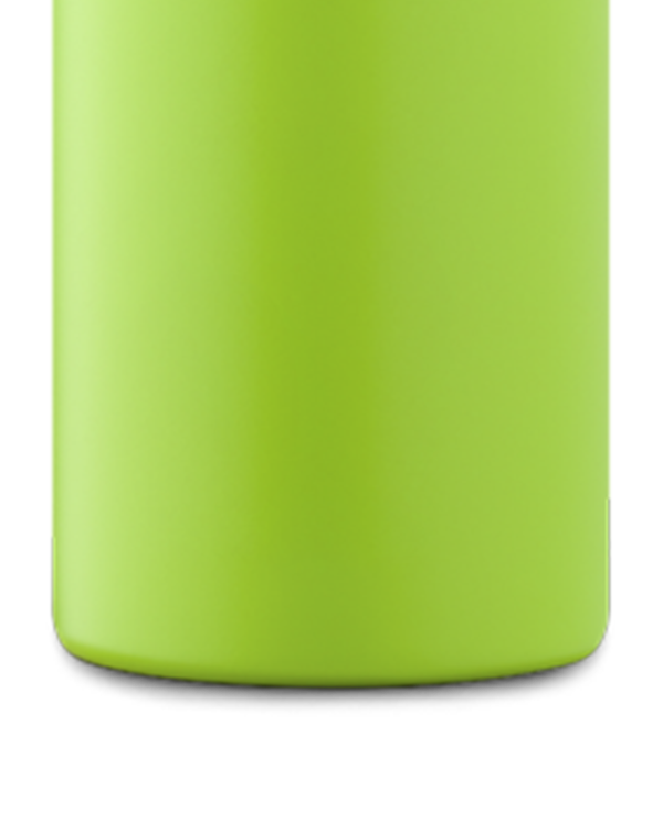 Lime Green Stainless Steel Water Bottle
