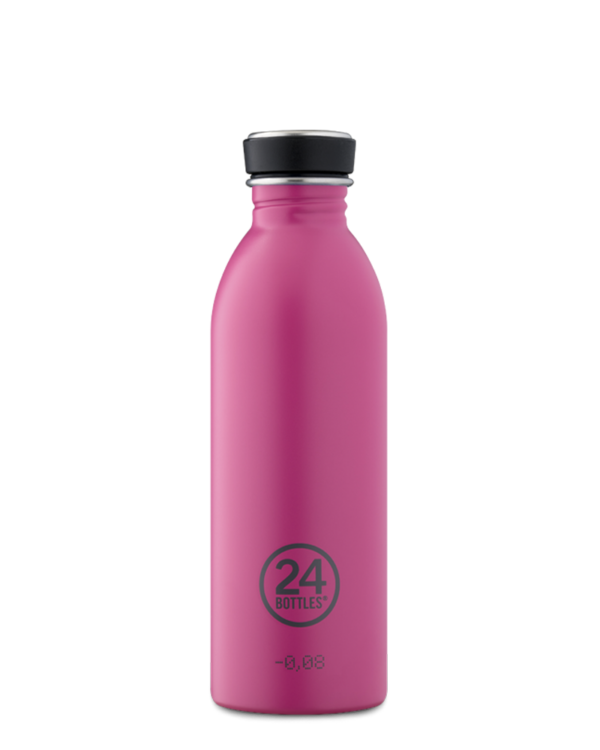 Passion Pink Reusable Stainless Steel Bottle