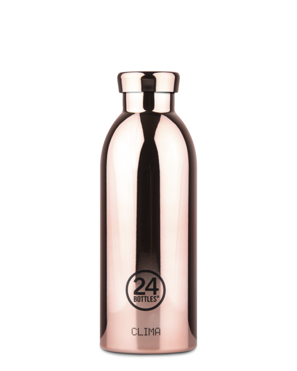 Rose Reusable Stainless Steel Water Bottle