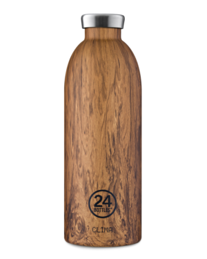 Sequoia Wood Reusable Stainless Steel Water Bottle