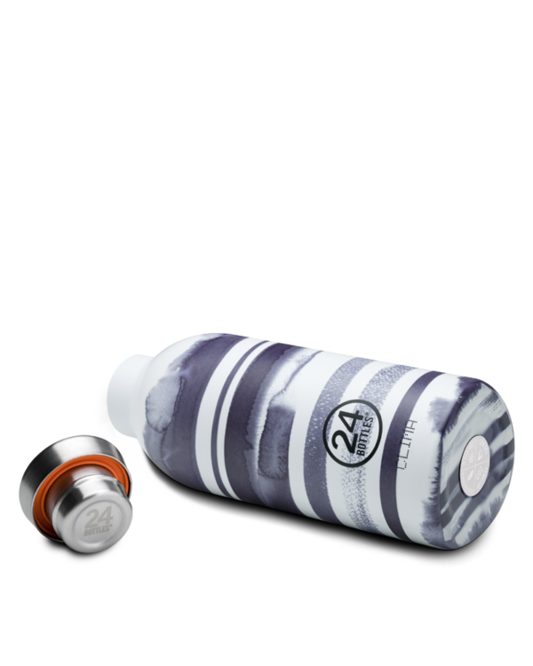 Stripes Reusable Insulated Water Bottle