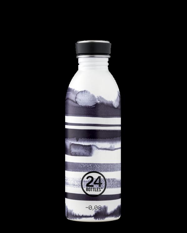 Stripes Stainless Steel Bottle