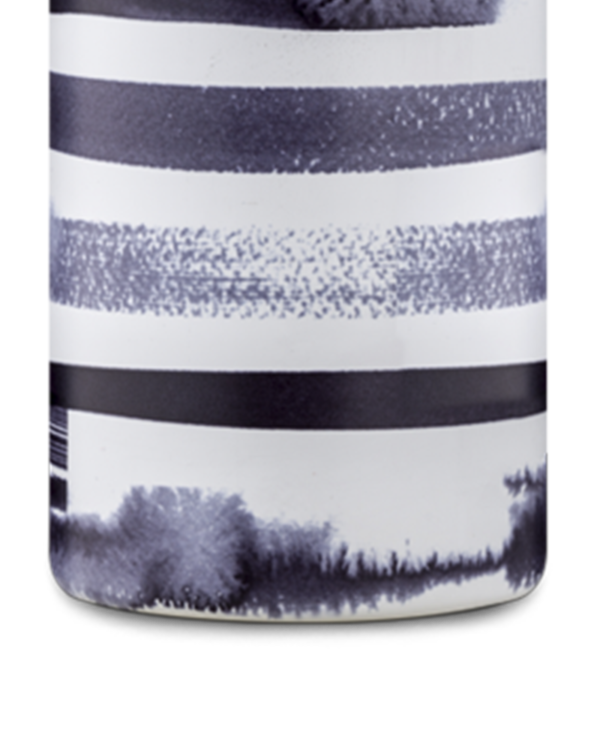 Stripes Reusable Stainless Steel Water Bottle