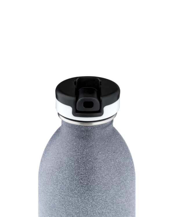 Tempo Grey Reusable Stainless Steel Water Bottle