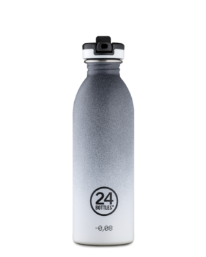 Tempo Grey Sport Stainless Steel Water Bottle