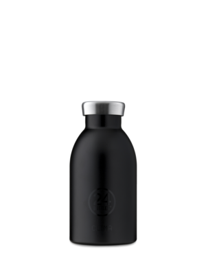 Tuxedo Black Reusable Insulated Bottle