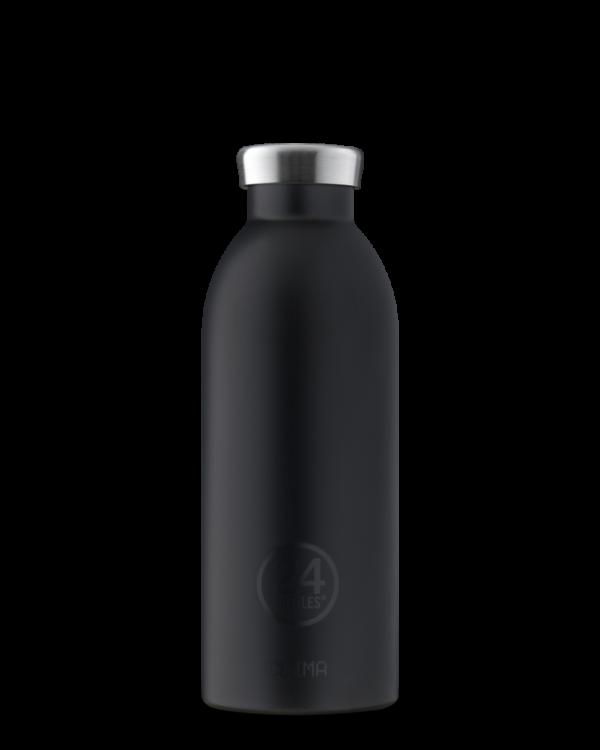 Tuxedo Black Reusable Insulated Stainless Steel Bottle