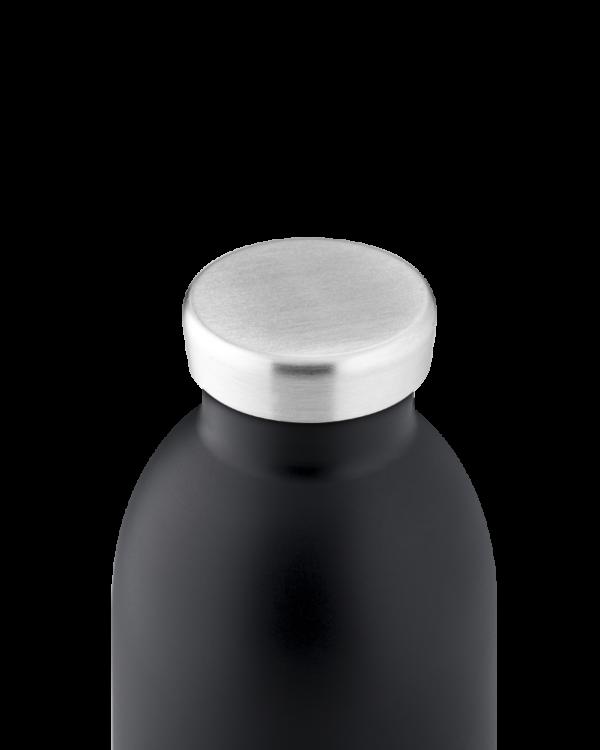 Tuxedo Black Insulated Stainless Steel Water Bottle