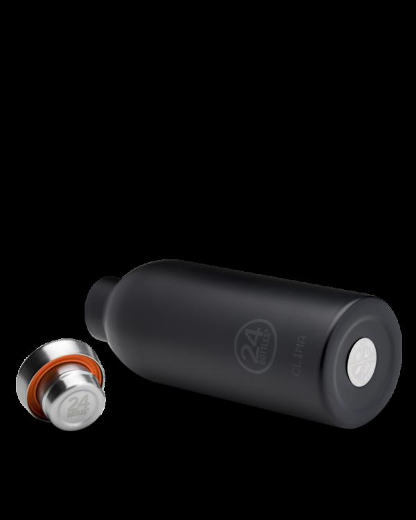 Tuxedo Black Reusable Insulated Water Bottle