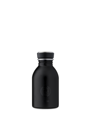 Tuxedo Black Reusable Stainless Steel Water Bottle