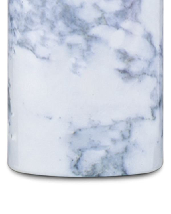 White Marble Reusable Insulated Stainless Steel Bottle
