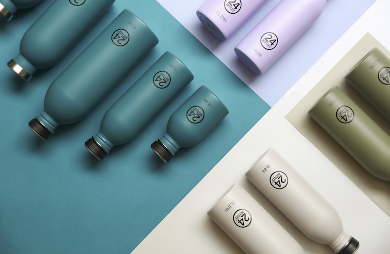 Earth Collection stainless steel bottle