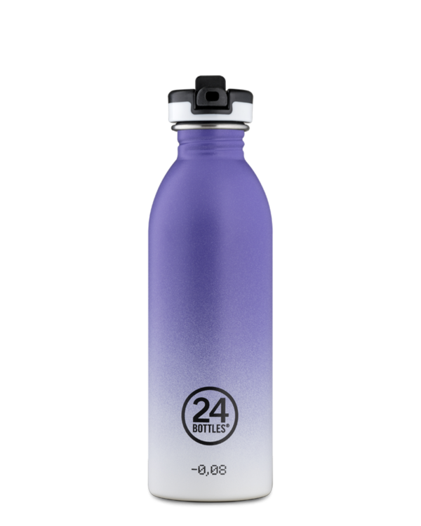 Purple Rhythm Reusable Sport Bottle