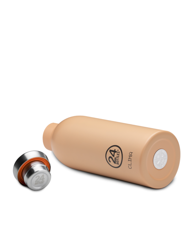 Peach Orange Reusable Insulated Water Bottle