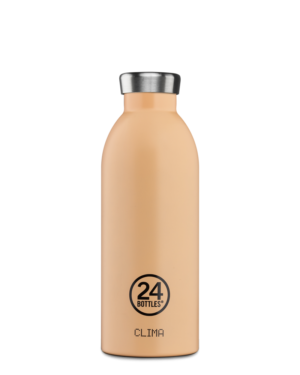 Peach Orange Reusable Water Bottle