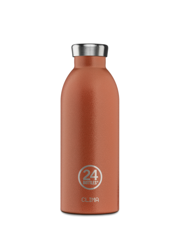 Sunset Orange Reusable Bottle