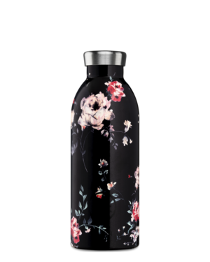 Ebony Rose Insulated Water Bottle