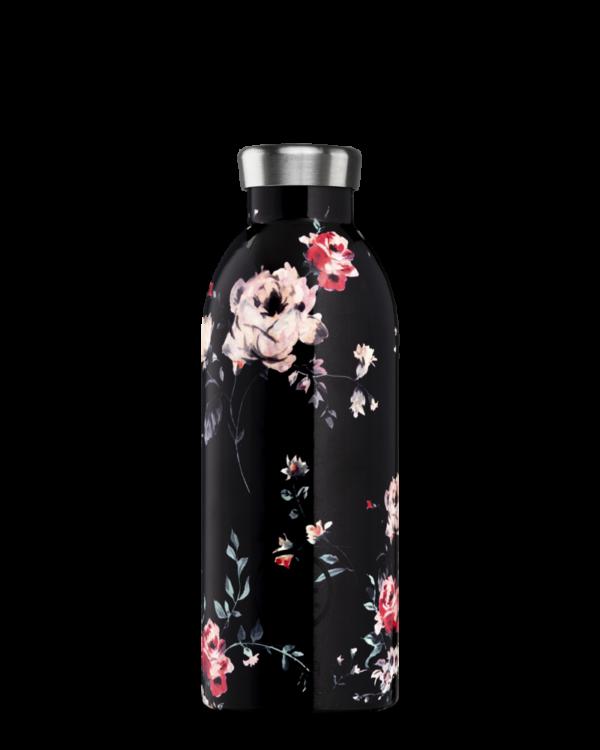 Ebony Rose Insulated Water Bottle