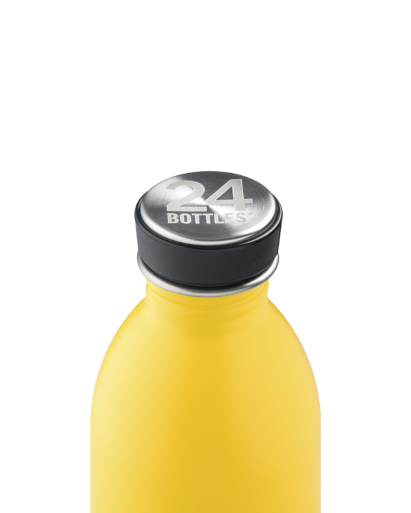 24Bottles Reusable Stainless Steel Water Bottle taxi yellow