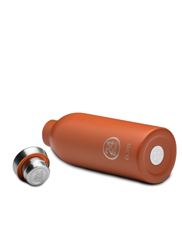 Sunset Orange Insulated Stainless Steel Water Bottle
