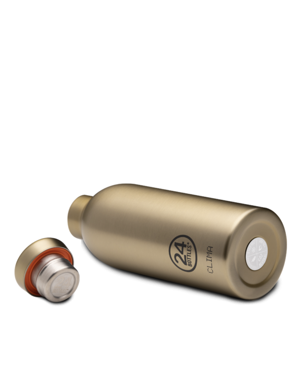 Prosecco Gold Insulated Stainless Steel Water Bottle