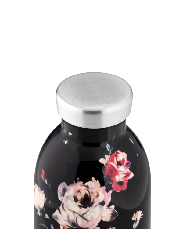Ebony Rose Reusable Stainless Steel Water Bottle