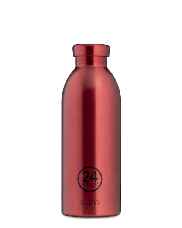 Chianti Red Reusable Stainless Steel Bottle