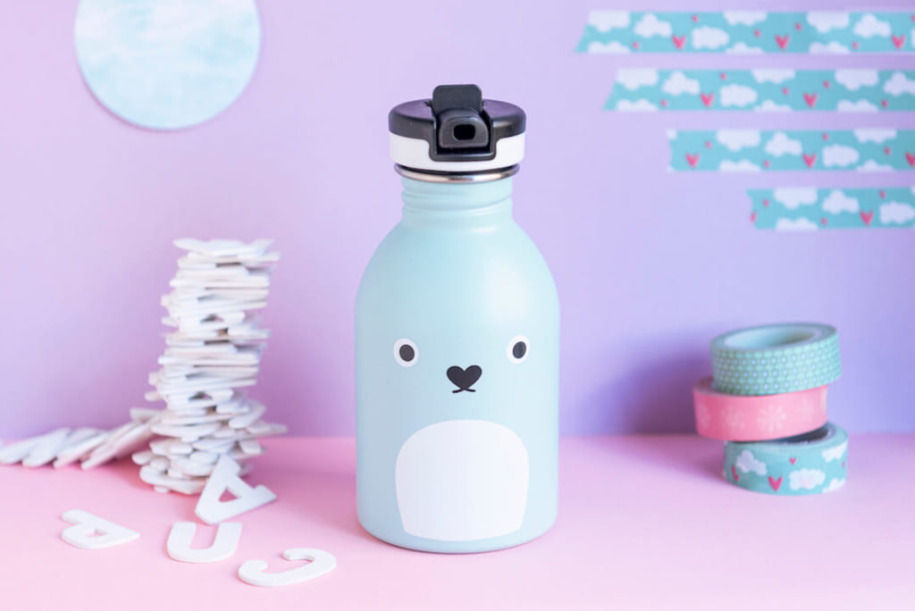 24Bottles x Noodoll back to school reusable refillable stainless steel bottle
