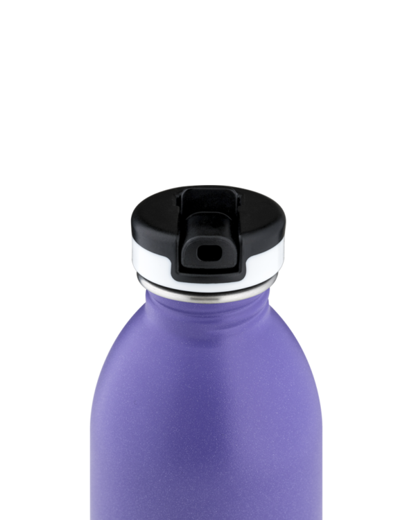 Purple Rhythm Reusable Stainless Steel Bottle