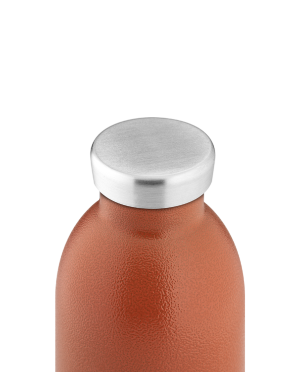 Sunset Orange Stainless Steel Water Bottle