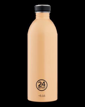Peach Orange Reusable Stainless Steel Lightweight Bottle