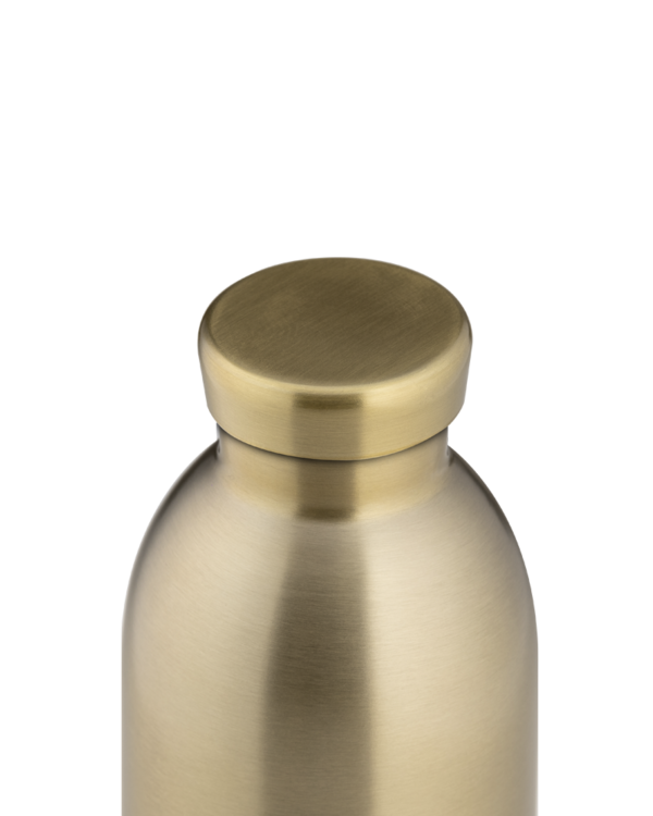 Prosecco Gold Reusable Stainless Steel Water Bottle