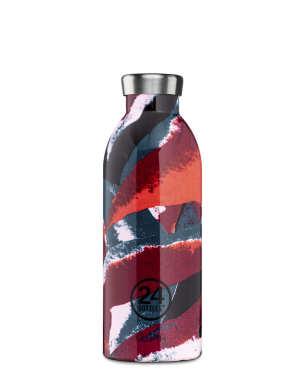 Flower Flame Reusable Insulated Stainless Steel Bottle