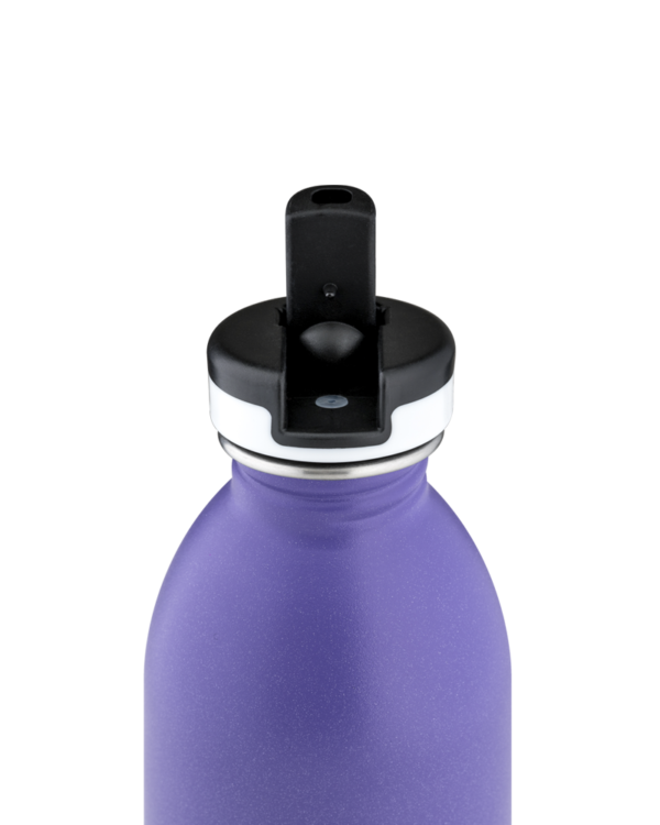 Purple Rhythm Reusable Stainless Steel Sport Bottle