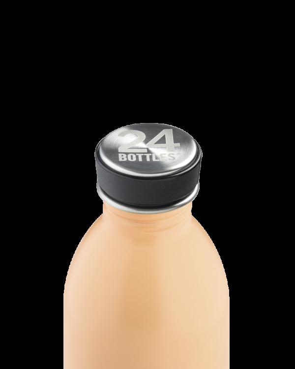 Peach Orange Reusable Stainless Steel Bottle