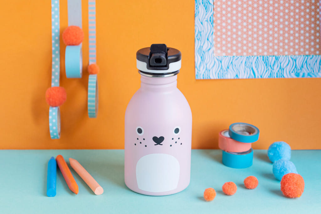 24Bottles x Noodoll back to school reusable bottle