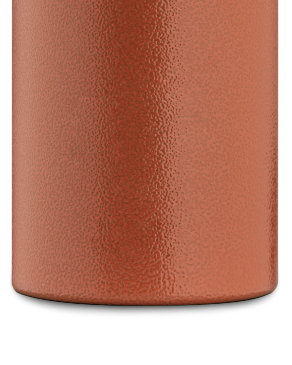 Sunset Orange reusable insulated bottle