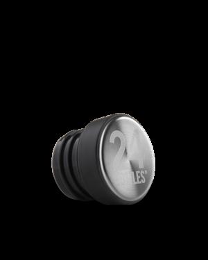 24Bottles Reusable Stainless Steel Water Bottles Lid Urban Black