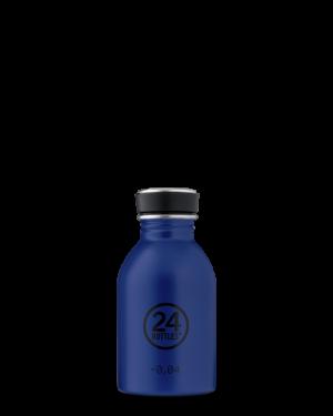 24Bottles Reusable Stainless Steel Water Bottle Gold Blue